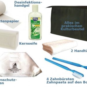 """KOMPLETT-2"" = 2-person emergency backpack = FREE HOUSE DELIVERY GERMANY-11724"