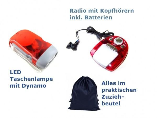 """""""BASIS-1"""" = 1-person emergency backpack = FREE HOUSE DELIVERY GERMANY-11707"""