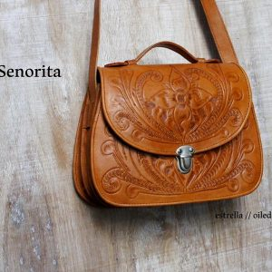 Ministry/Meeting Bag - Señorita // estrella Oiled-0