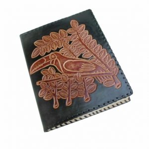 Book-Cover Leather // tucán - fuego (jy-E) -13436