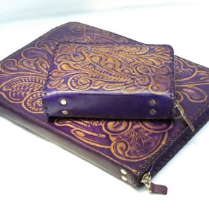 Set: bible cover + JWunFold (flor // lila - natural)-0
