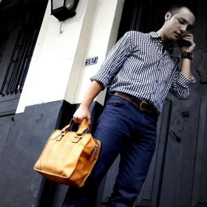 Meeting Bag: Anciano antique-lite // oiled-0