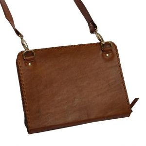 Ministry & Tablet Folder: JWunFOLD // simple - choco (with belt)-0
