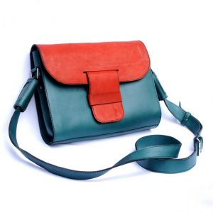 Tablet Purse- La TabBag 21 // rojo - petrol-0