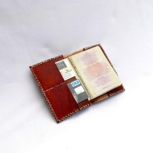 Leather Passport Wallet // vino-0