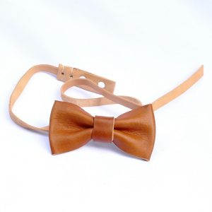 Leather Bow Tie // oiled-0